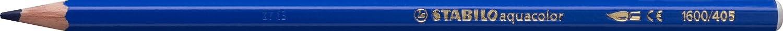 STABILO aquacolor matita colorata acquarellabile colore Blu Oltremare - Confezione da 12 Stabilo International GmbH 1600/405