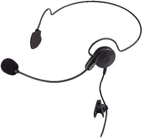 HEADSET FOR KENWOOD TWO PIN NEXEDGE NX220 NX320 TK3312 TK2312 TK3302 TK2302
