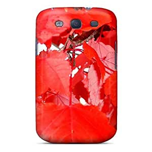 First-class Case Cover For Galaxy S3 Dual Protection Cover October Color