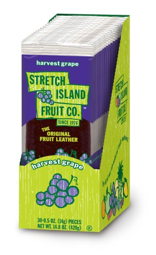 Stretch Island Harvest Grape Fruit Leather, 0.5 Ounces (Pack of 30) by Stretch Island (Image #1)