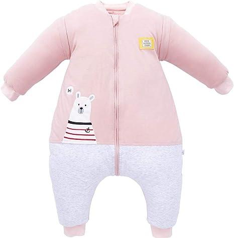 Pijama recién nacido Saco de dormir para bebés 6-18 meses Patas de ...