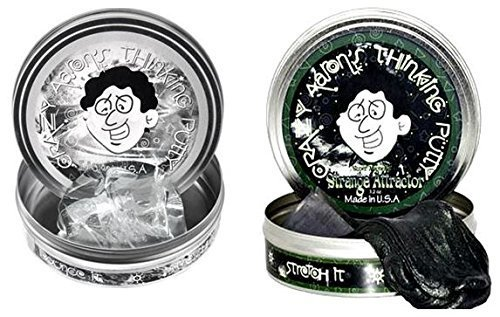 Crazy Aaron's 2 Pack: Strange Attractor and Liquid Glass, Large 4'' Tins