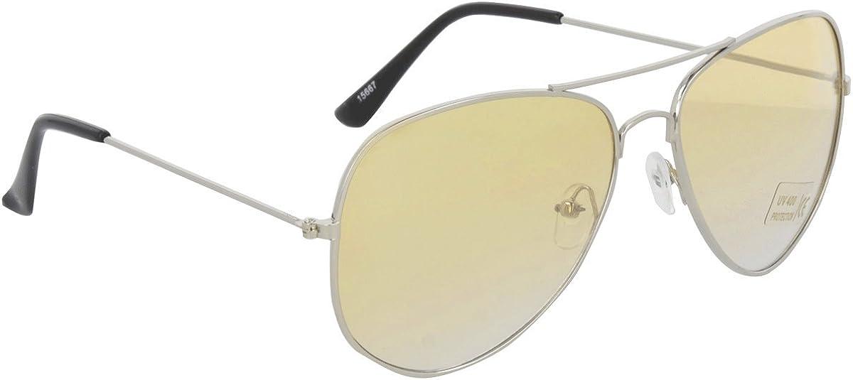 Gafas de sol estilo piloto, varias combinaciones de colores