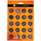 EmazingLights CR2032 Battery (20 Pack), 3V 2032 Batteries Button Cell Lithium