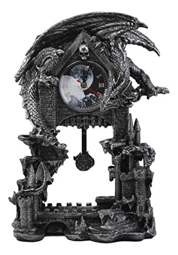 Ebros Large Gothic Smaug Dragon Overlord Guarding Castle for sale  Delivered anywhere in Canada