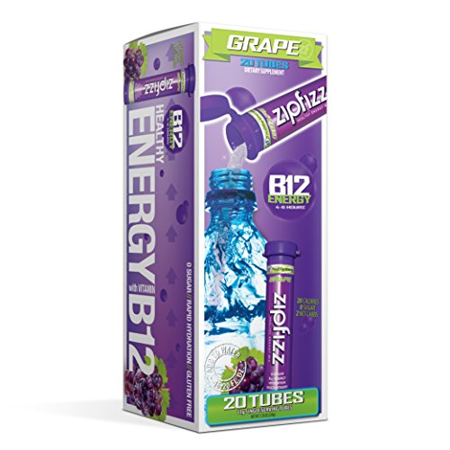 Zipfizz Healthy Energy Drink Mix, Grape, 20 Count (Grape Protein Drink compare prices)