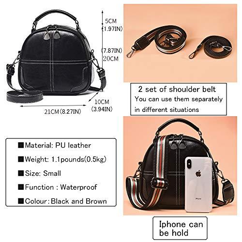 Crossbody Purse for Women Small Shoulder Bag Leather Fashion Cute Handbag