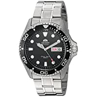 Orient Men's FAA02004B9 Ray II Analog Automatic Silver-Toned Stainless Steel Diving Watch