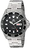 Orient Men's FAA02004B9 Ray II Analog Automatic Silver-Toned Stainless Steel Diving Watch offers