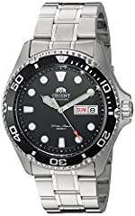 The new Orient Ray II is destined to become a massive best seller. The new Ray II is now powered by a 22-jewel, Caliber F69 automatic movement. This new movement is self-winding, hand winding, and it hacks (second hand halts when you pull out...