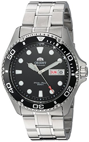 Sea Turtle Two Piece - Orient Men's FAA02004B9 Ray II Analog Display Japanese Automatic Silver Watch