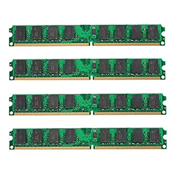DyNamic 4Pcs 2Gb Ddr2-800Mhz Pc2-6400 240Pin Dimm AMD ...