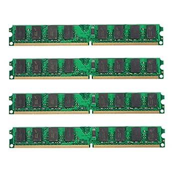 DyNamic 4Pcs 2Gb Ddr2-800Mhz Pc2-6400 240Pin Dimm AMD Tarjeta De ...