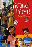 Espagnol 1re année Qué bien! (1CD audio)