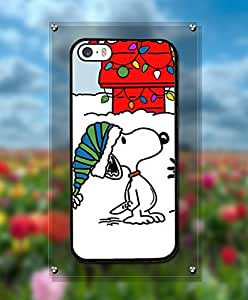 Charlie and Snoopy Iphone 5s Funda Case Pretty Pattern Durable Popular Vivid Design Drop Protection Cell Phone Cover For Iphone 5 / 5s - By Yacoco