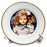 3dRose cp_50247_1 Shirley Temple Doll-Porcelain Plate, 8-Inch