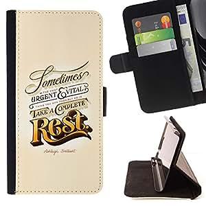 Momo Phone Case / Flip Funda de Cuero Case Cover - Resto Oro Urgente Vintage Retro Vital - Sony Xperia Z5 Compact Z5 Mini (Not for Normal Z5)