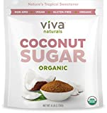 Viva Naturals Organic Coconut Sugar: Non-GMO, Low-Glycemic Sweetener, 6 lbs Bag
