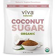 Amazon #LightningDeal 85% claimed: Viva Naturals Organic Coconut Sugar: Non-GMO, Low-Glycemic Sweetener, 6 lbs Bag