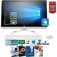 HP 24-g230 7th Gen Intel Core i3-7100U 1TB 23.8 All-in-1 PC Z5M23AA#ABA + Elite Suite 17 Standard Software Bundle (Corel WordPerfect, PC Mover,PDF Fusion,X9) + 1 Year Extended Warranty