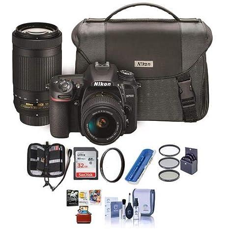 Amazon.com: Nikon D7500 DSLR con objetivos AF-P DX Nikkor ...
