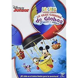 La Casa De Mickey Mouse: La Gran Carrera De Globos De Mickey Y Donald