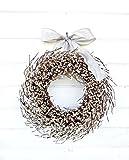 Christmas Wreath, Winter Wreath, Spring Wreath, Wedding Decor, White Wreath,Holiday Wreath, Christmas Wreath, Year Round Wreath, Housewarming Gift, Wedding Wreath, Door Wreath, Rustic Home Decor