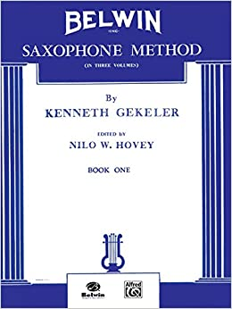 Book Belwin Saxophone Method, Bk 1