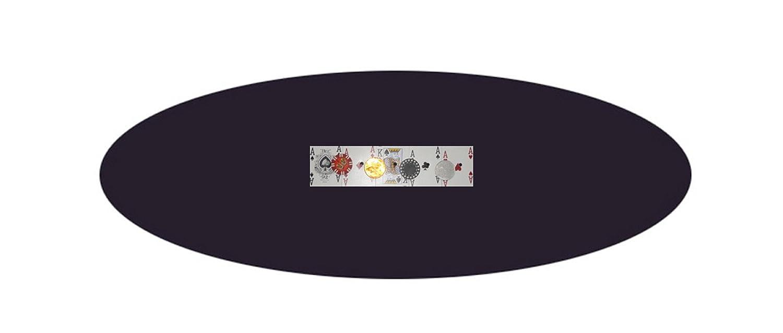 ブラックフェルトPoker Table B00J6C70YW Cover – – Bonnet – ラウンド60インチのテーブル – – ゴムバンド付き B00J6C70YW, 坂祝町:fffe2198 --- itxassou.fr