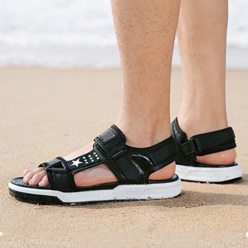JIANXIN Sandali Sportivi Casual Sandali Estivi da Uomo Sandali Sandali Sandali da Spiaggia Open Toe Sandali da Uomo (Dimensioni   EU 44 US 14 UK 12) 60ecef