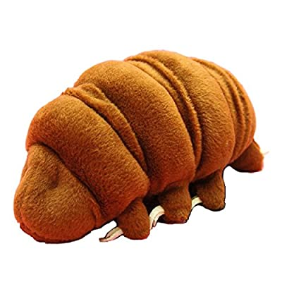 Sea Creature Tardigrade Water Bear Plush (M Size/ 18.5 cm/Ramazzottius/Brown): Toys & Games