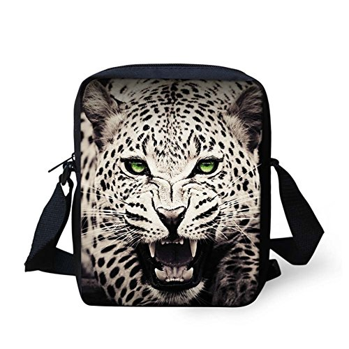 Chaqlin Bulldog Bandoulière marron Leopard Gray Sac Yw84wA