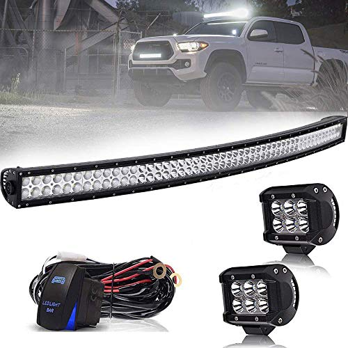 Used, AUSI 52Inch 300W Curved LED Light Bar Spot Flood Combo for sale  Delivered anywhere in Canada