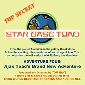 Star Base Toad - Adventure 4 Radio/TV Program