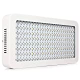 Alphami™ Full Specturm LED Grow Lights , Energy Efficient Hydroponic Plant Grow Lights for Garden, Greenhouse and Hydroponic Aquatics (10w Leds) (1000W, White)
