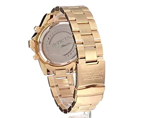 Invicta Men s 1774 Pro-Diver Collection 18k Gold Ion-Plated Stainless Steel Watch