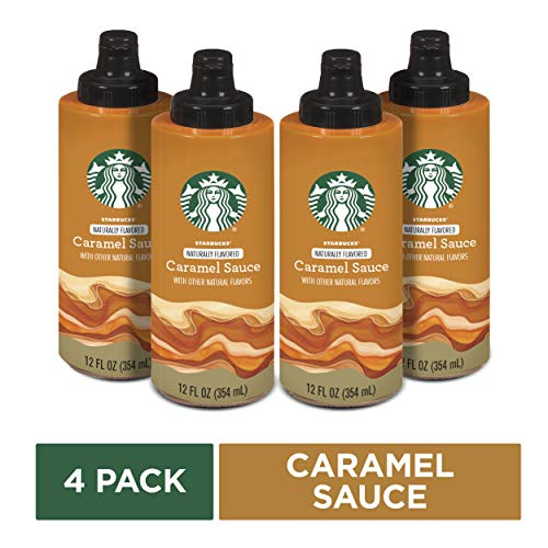 (Starbucks Naturally Flavored Caramel Sauce, 4 bottles of 12 fl. oz. (354 mL))