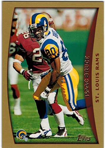 Louis Rams Team Bank - 1998 Topps St. Louis Rams Team Set with Isaac Bruce & Tony Banks - 12 Cards