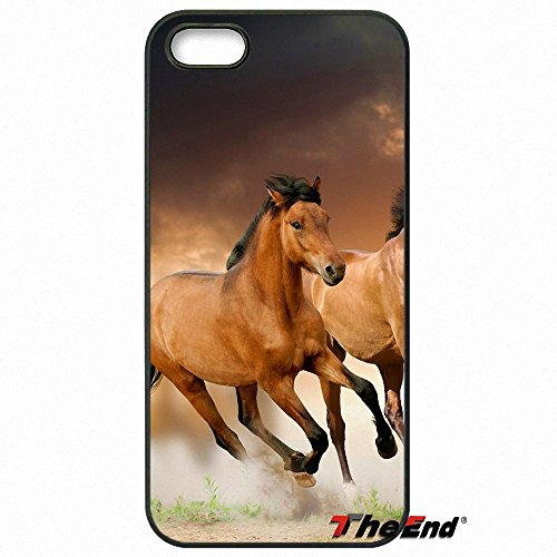 (images 10 - For iPhone 7_For iPhone X 4 4S 5 5C SE 6 6S 7 8 Plus Galaxy J5 J3 A5 A3 2016 S5 S7 S6 Edge Beautiful sunset running horse Cell Phone Case_images 10_For iPhone 7)