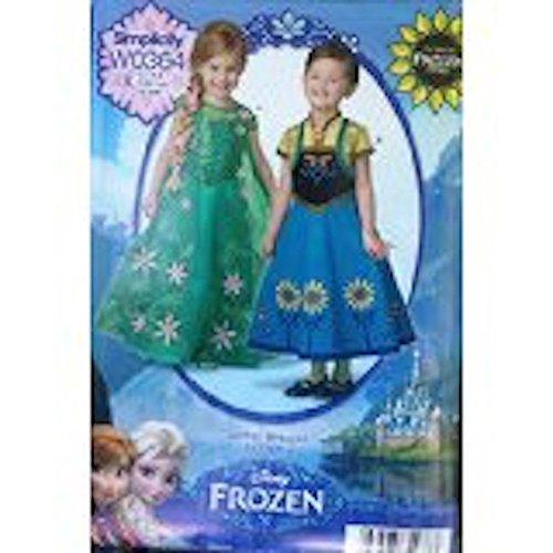 Simplicity W0364 Disney Frozen Fever Costume Pattern, Girls 3-8