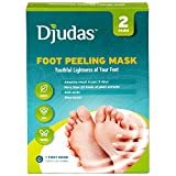 Baby Foot Exfoliating Peel Djudas - Foot exfoliating peel mask  Effective Purederm peeling gel  exfoliant, Amazing SPA for Baby Soft Feet  Try it today - Results are guaranteed  One Pack Contain 2 pairs of socks