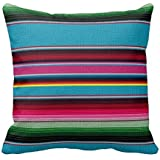 Funny Wholesale The Mexican Blanket Pillow Cover, 18 x 18 inches