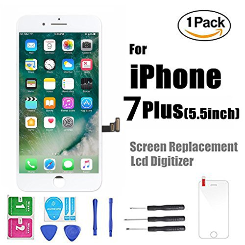 Cheap Replacement Parts iPhone 7 Plus Screen Replacement, LCD Display Screen Digitizer Frame with Repair..