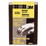 3M Small Area Drywall Sanding Sponge, 3.75-Inch x 2.625-Inch X 1-Inch, Fine/Medium, (9093DCNA)