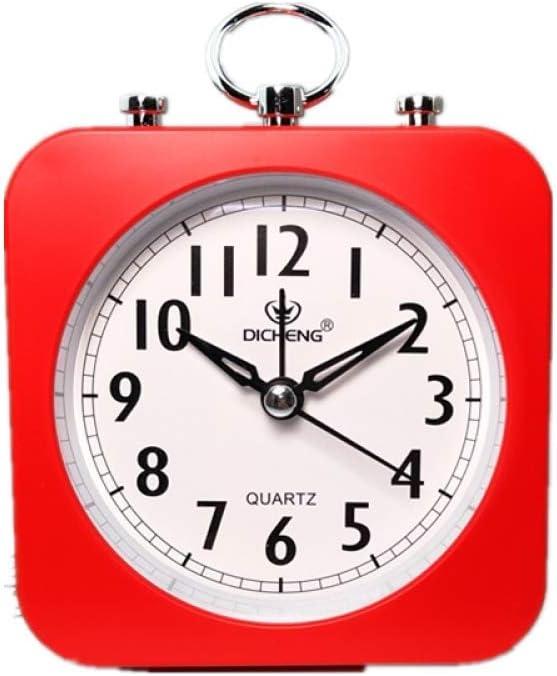 2REMISE Creative Candy Perezoso Mudo Pequeño Reloj Despertador Escritorio Simple Reloj De Viento