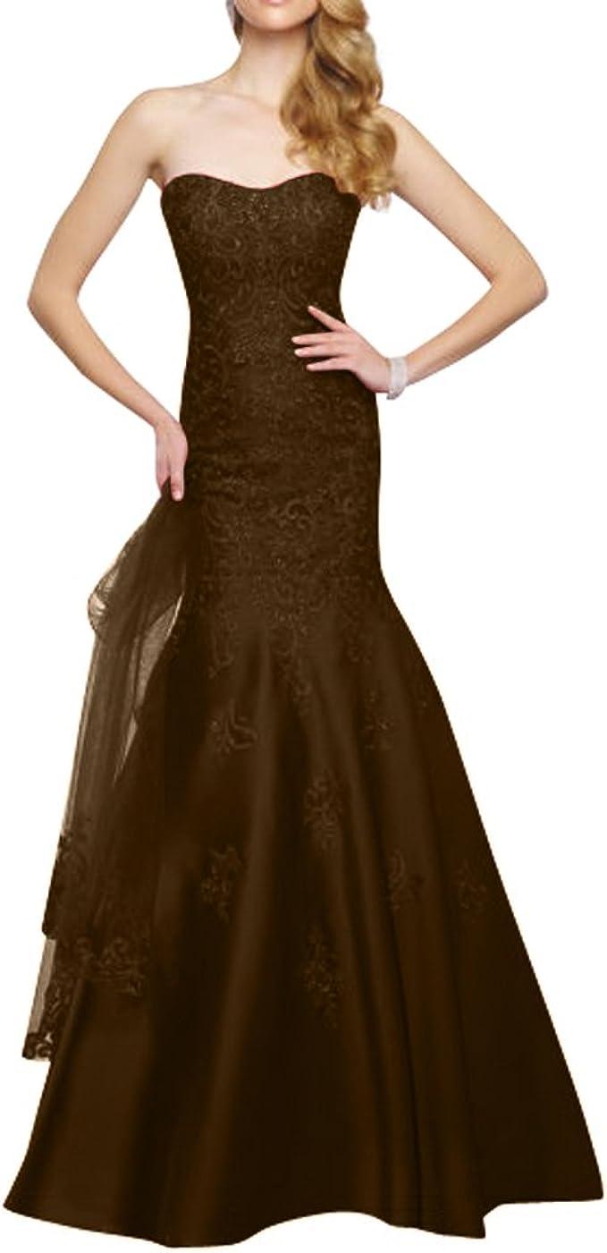La_mia Brau Spitze Etuikleider Abendkleider Promkleider