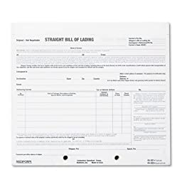 Rediform - Bill of Lading Short Form, 8 1/2 x 7, Four-Part Carbonless, 250 Forms 44-302 (DMi PK by Rediform