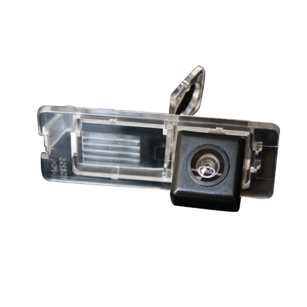 Navinio Telecamere posteriori in luce targa ( NTSC ) Nero per Fluence/Duster Latitude scenic2/3 Megane 2 Megane 3/Cabrio/Clio 3 4 III IV/ Terrano/Lutecia/Espace 4 FBANV9152-ES