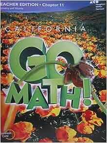 California Go Math! Grade 5 Teacher Edition Chapter 11 ...