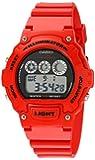 Casio Unisex W-214HC-4AVCF Classic Red Watch